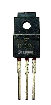 Транзистор 2SB1020, PNP, 100 V, 7 A, 30 W, 0.8 us, дарлингтон