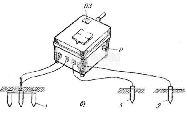 Уред за измерване на съпротивлението на заземяване MC-08 - 8