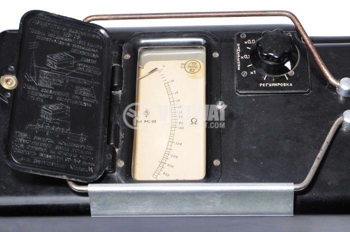 Уред за измерване на съпротивлението на заземяване MC-08 - 4