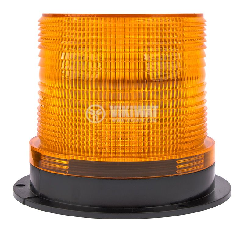 Flashing light, RD-205, LED48, 10-30VDC, orange with magnet - 2