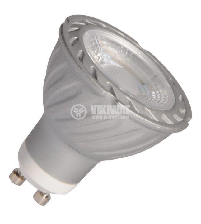 LED лампа BA25-0352, 4W, 220VAC, GU10, 6400K, студенобяла - 3