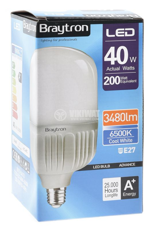LED lamp 40 W cool white - 4