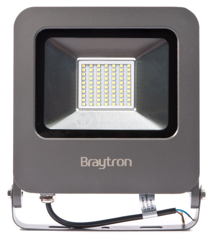 LED прожектор BT61-05032, 50W, 220V, IP65, 6500K, студенобял - 1