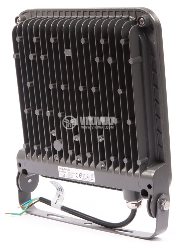 LED прожектор 50W, IP65, 6500K, студенобял - 4