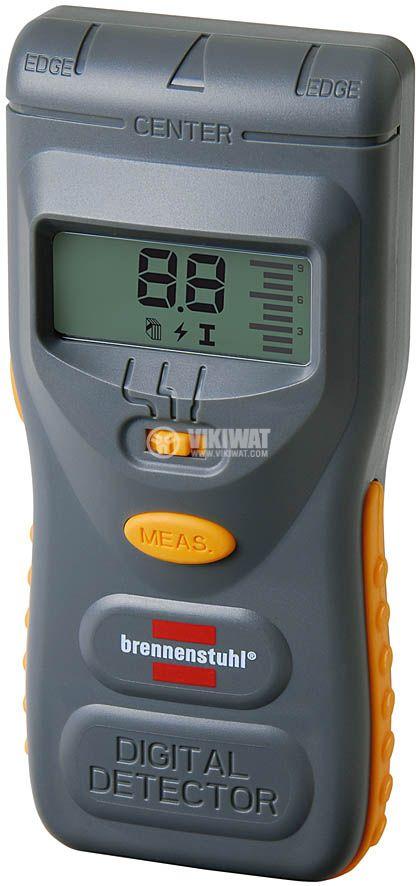 Non-contact metal detector, non-metal and voltage, WMV Plus, Brennenstuhl - 1