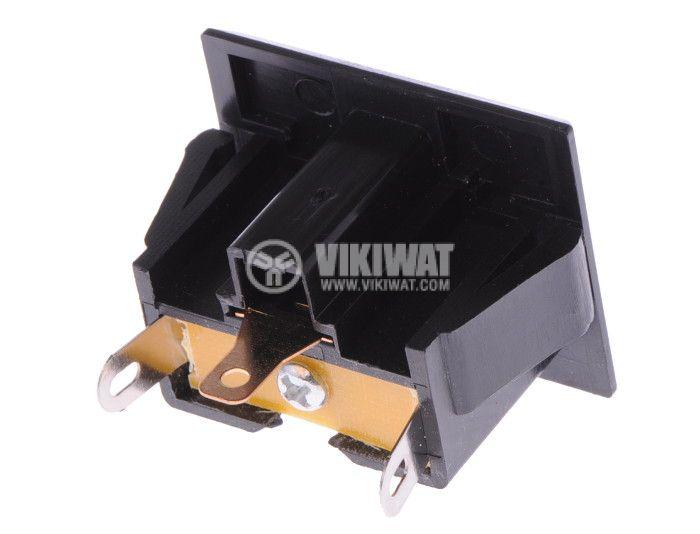 Power Electrical Socket, single phase, black - 2