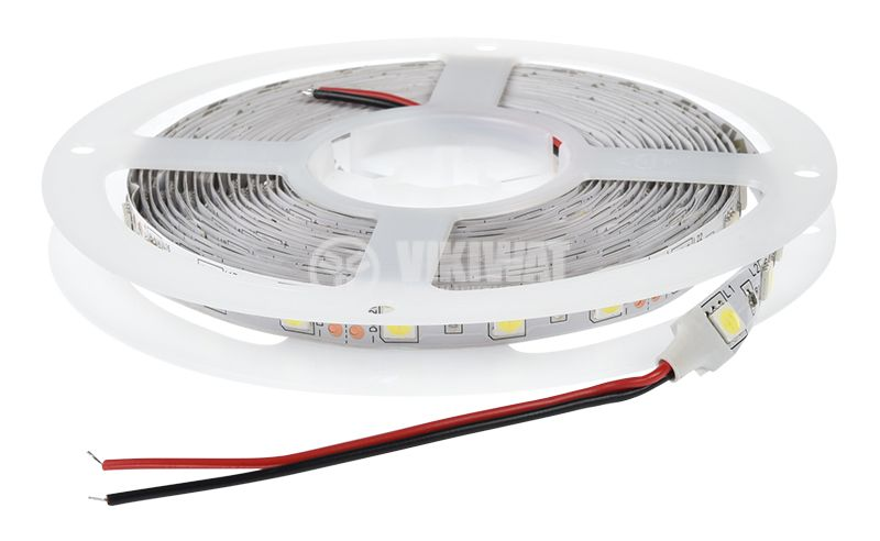LED strip ECOLINE 5050, 60LED/m, 14.4W/m, 12VDC, IP20, non-waterproof, cool white,  BS01-00303 - 3