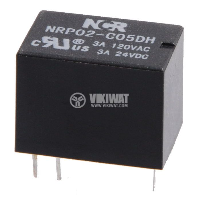 Electromagnetic relay NRP02-C05DH - 1