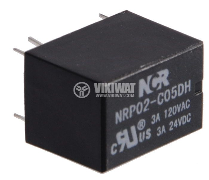 Electromagnetic relay 3A/120VAC - 2