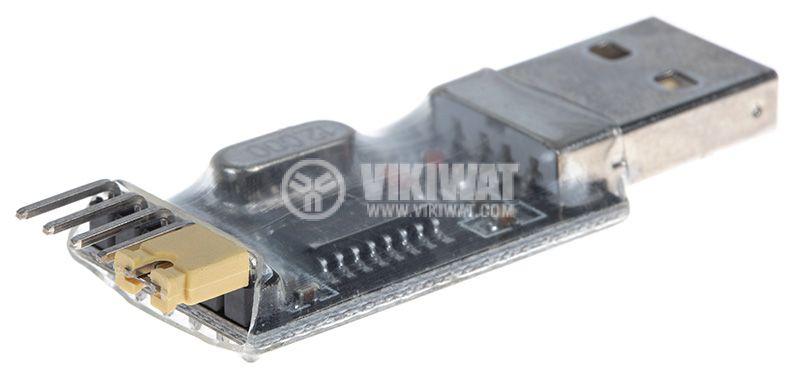 Converter USB to UART TTL, 3.3VDC/5VDC - 3