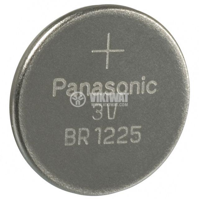 Бутонна батерия CR1225, 3V, 48mAh
