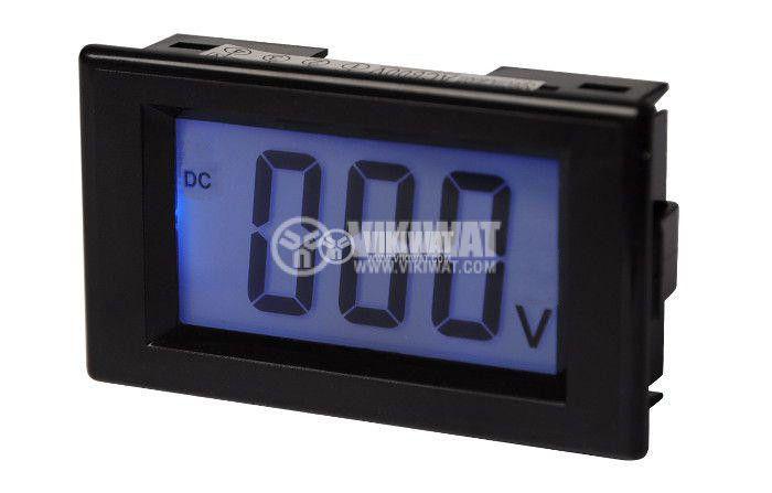 Digital voltmeter, 0-600V DC, SFD-69 - 1