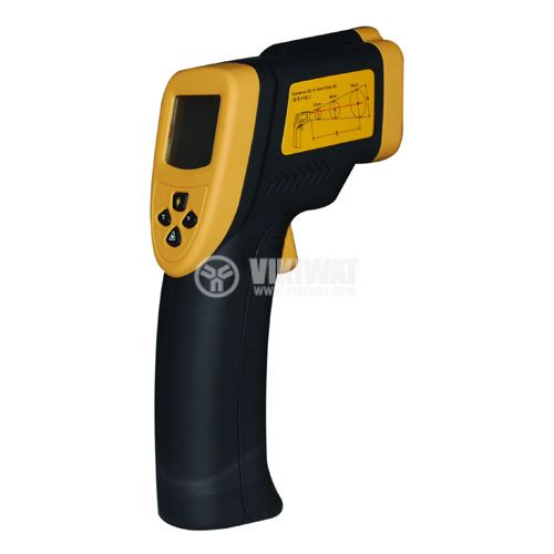 Infrared thermometer 4-digit LCD display - 3