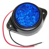 Auto lamps, 5 blue LED diode , 24 V