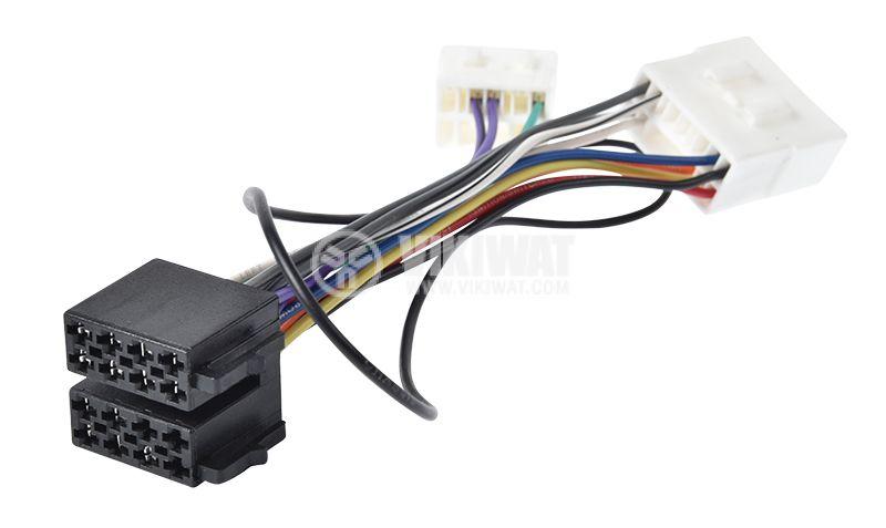 Auto plug MAZDA 2000 / ISO, 13 pins - 1