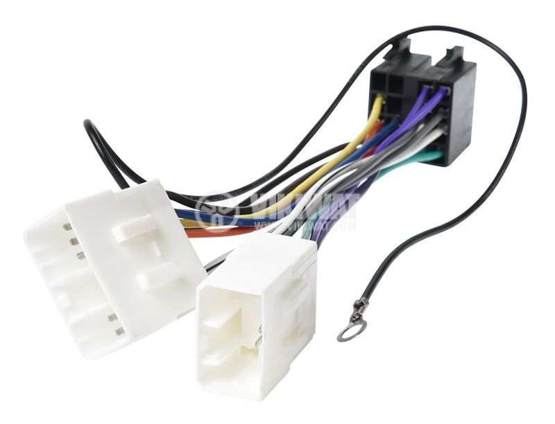 Auto plug MAZDA 2000 / ISO, 13 pins - 3