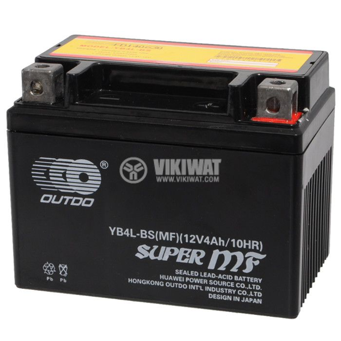 Sealed Lead Acid Battery YB4L-BS