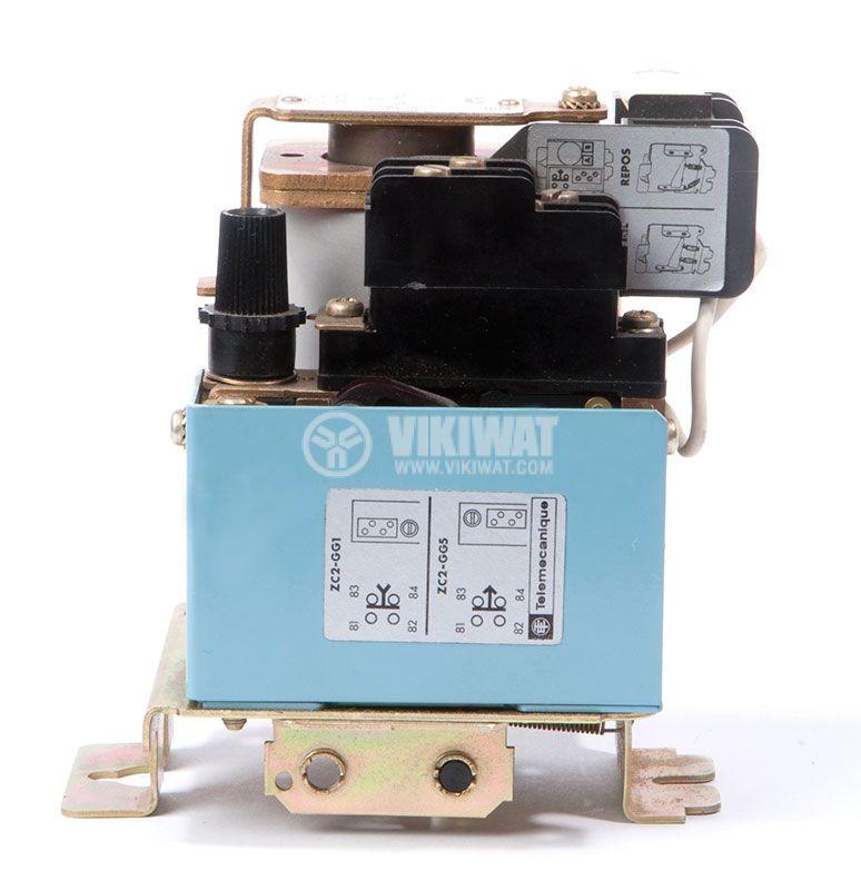 Contactor CA1-CR103, 2P, 8A 24 VDC, 1.7kW, 3kW CA1-CT103 - 1