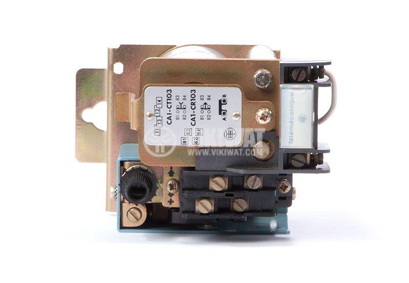 Contactor CA1-CR103, 2P, 8A 24 VDC, 1.7kW, 3kW CA1-CT103 - 4