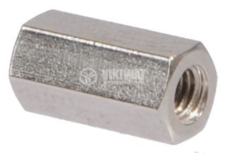 Bushing, spacer, hexagonal hole with threaded M3 - 2