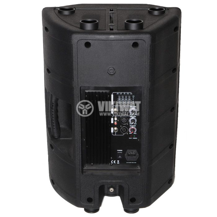 "Speaker Professional active 2 way PA-15 250W 8Ohm 15"" - 2"