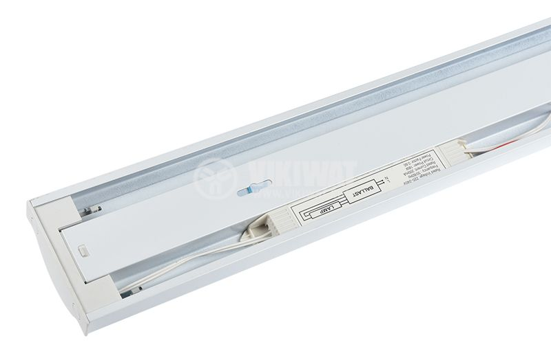 Fluorescent lighting fixture 1x18, 600mm, T8, 220-240VAC - 2
