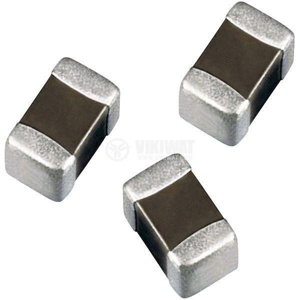 Capacitor SMD, C0603, 2.2nF, 50V, X7R - 1