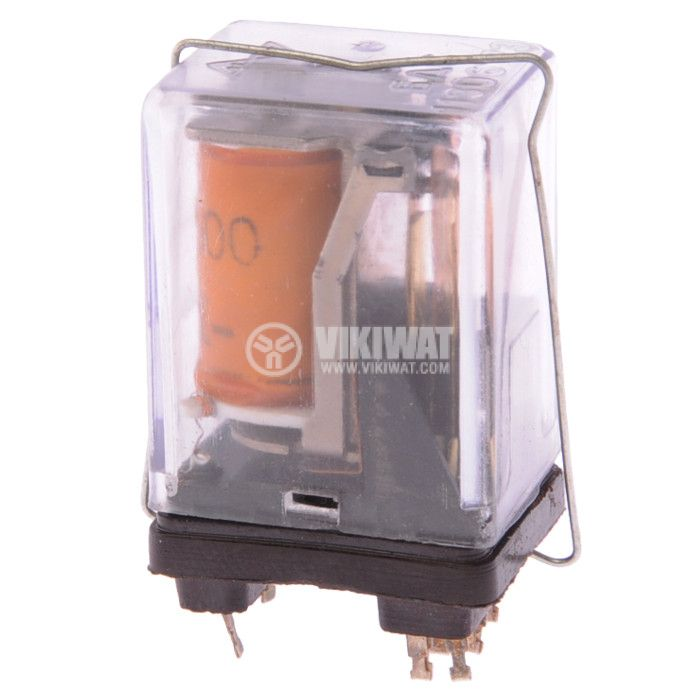 Electromechanical Relay 22AB00, coil 12VDC, 100VAC/0.3A, 2NO+2NC - 1