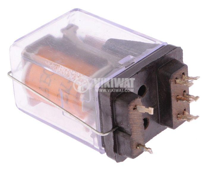 Electromechanical Relay 22AB00, coil 12VDC, 100VAC/0.3A, 2NO+2NC - 2