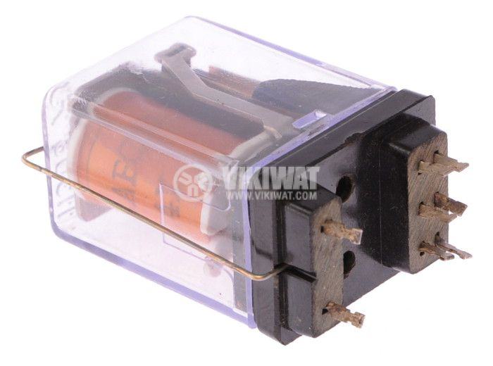 Electromechanical Relay 22AB00, coil 24VDC, 100VAC/0.3A, 2NO+2 NC - 2