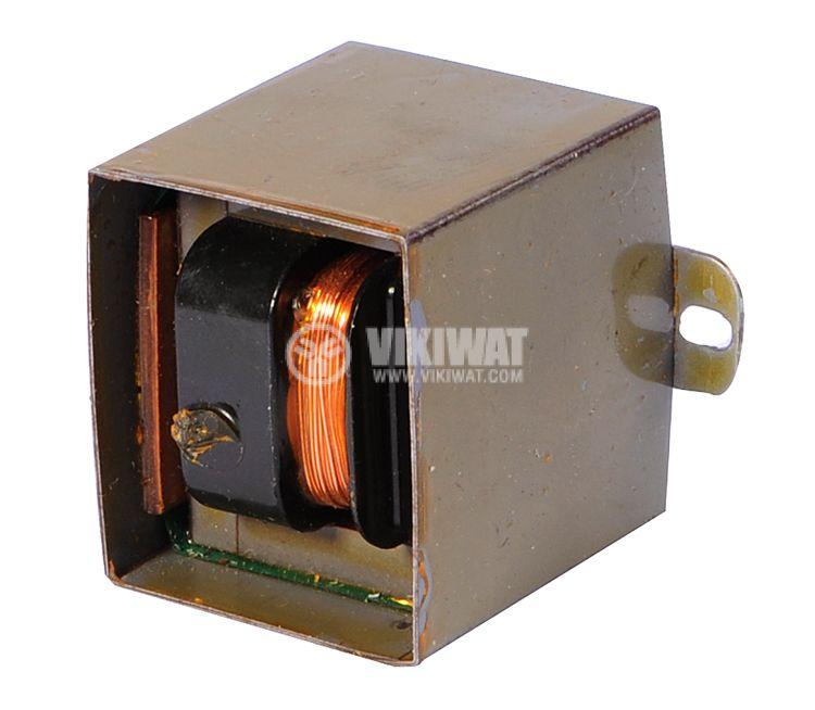 Трансформатор 220/ 9 VAC, 5.4 VA, екраниран - 1