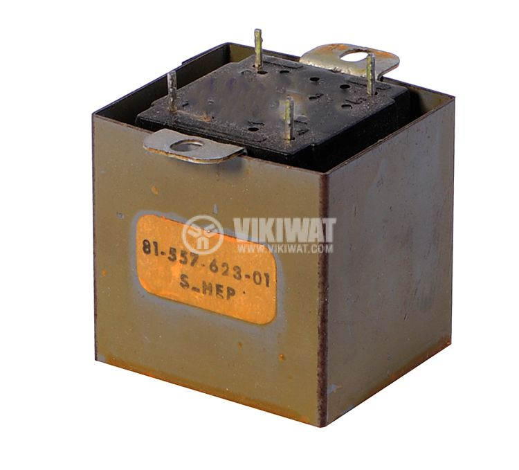 Трансформатор 220/ 9 VAC, 5.4 VA, екраниран - 2