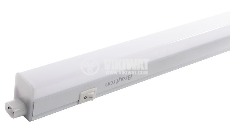 LED wall lamp 14W, 220VAC, 1100lm, 6400K, cold white, 1173 mm, BN10-01430 - 1