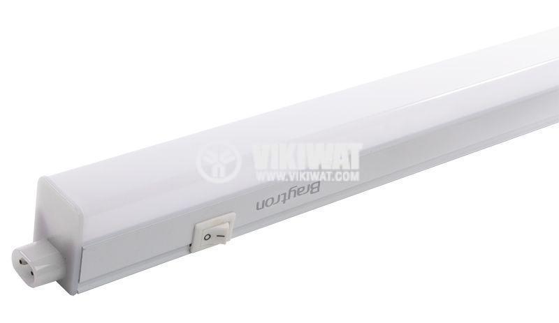 LED wall lamp 11W, LEDLINE, 220VAC, 750lm, 6400K, cool white, 873mm, BL30-1120 - 1