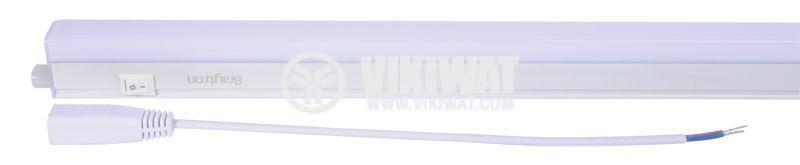 LED wall lamp 11W, LEDLINE, 220VAC, 750lm, 6400K, cool white, 873mm, BL30-1120 - 4