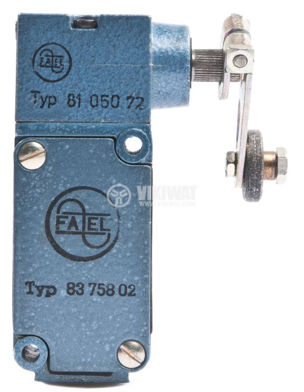 Limit switch FAEL 8375802, 10A / 380V, NO+NC, NO+NC, roller arm - 1