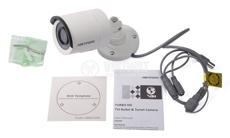 Camera 1Mpx 3.6mm DS-2CE16C0T-IRF HIKVISION - 3