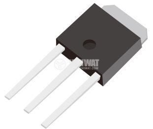 Транзистор 55N10, MOS-N-FET, 100 V, 55 A, 0.021 Оhm, 155 W, I-PAK
