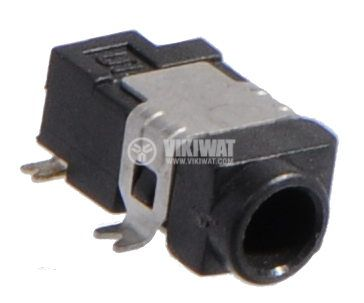 Power connector socket 3 x 1.5 mm SMD assembly - 1