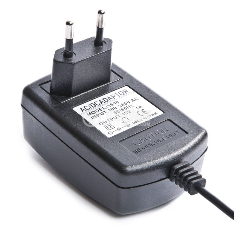 Universal adapter 15VDC, 1A - 3