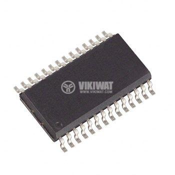 Интегрална схема TDA3867 демонтирана