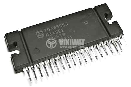 Integrated Circuit TDA8588, audio amplifier