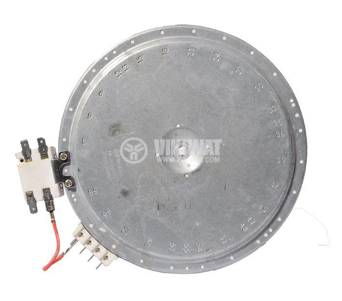 Керамична нагревателна плоча за котлон 230VAC - 2