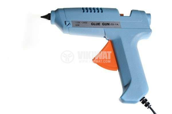 Hot melt silicone gun ZD-7A, 220VAC 80W