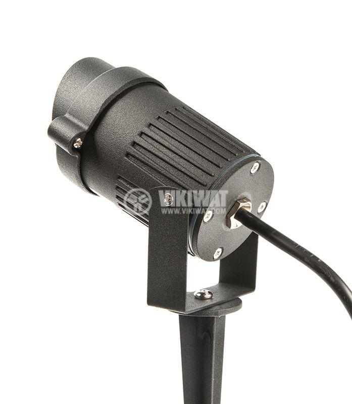 LED garden fixture 9W, 220VAC, 450lm, green, IP65, waterproof, BT25-00152 - 5