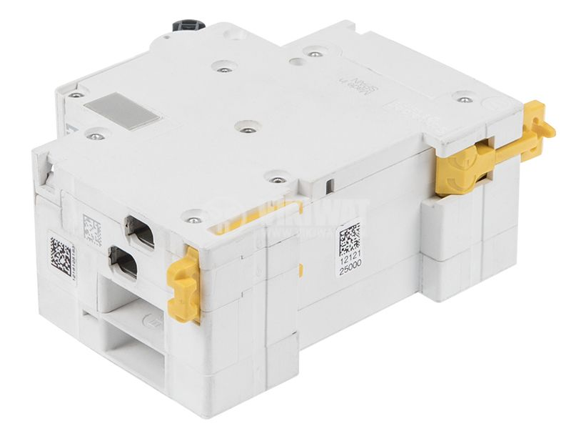 Автоматичен предпазител с дефектнотокова защита DPN N Vigi 2P 25A 30mA AC-type - 3