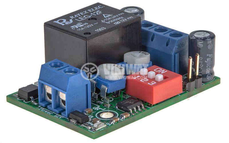 Цикличен таймер, 0-1000s/0-10000s, 12VDC - 3