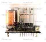 Special electromagnetic relay coil 48VDC 250VAC/10A 4PDT - 4NO +4 NC 2 RH 01