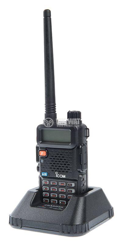 Радиостанция ICOM IC-UV90, двубандова, 10W, 7.4V - 5