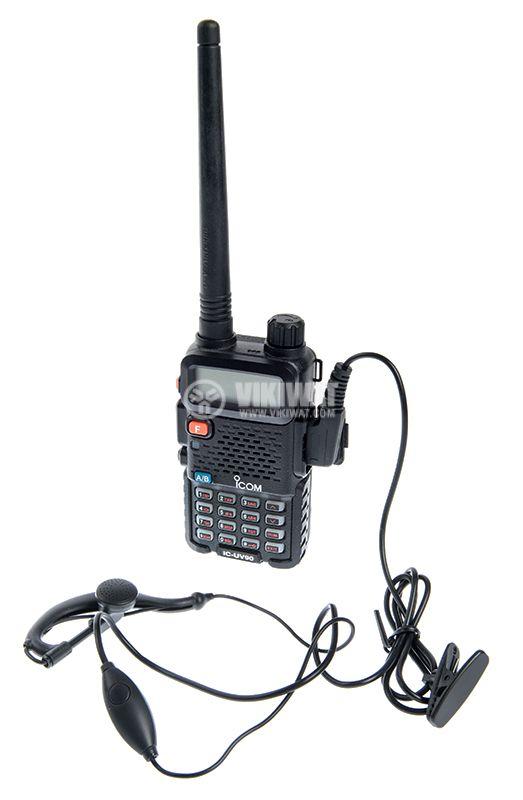 Радиостанция ICOM IC-UV90, двубандова, 10W, 7.4V - 6
